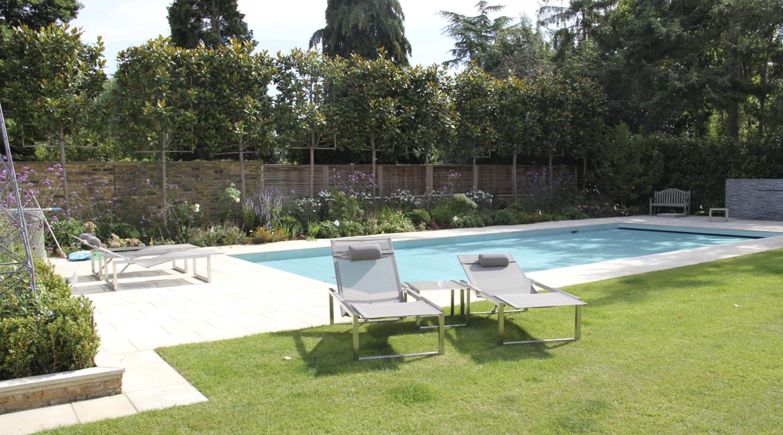 Garden Design Enfield : Swimming pool gardennorth london amanda broughton garden design