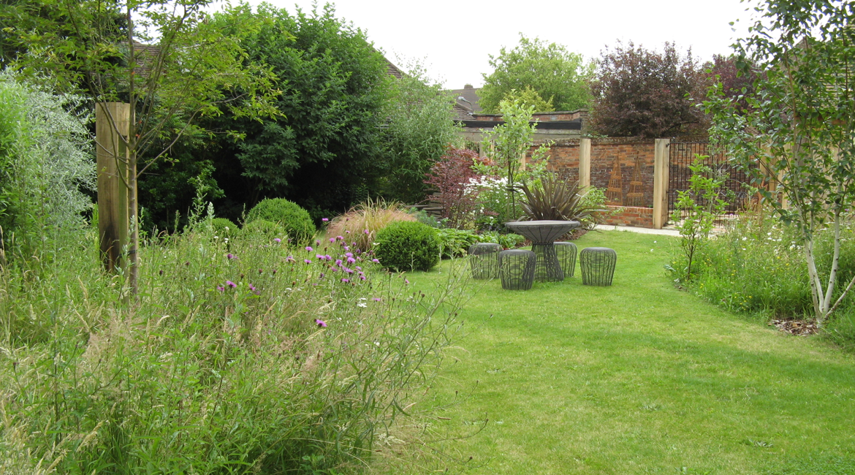 Garden Design Enfield : Gardenhadley green hertfordshire amanda broughton garden design
