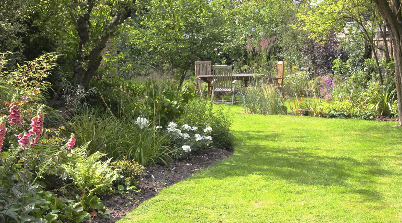 Informal gardengolders green london amanda broughton for Informal garden designs