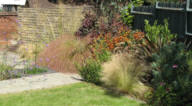 Garden Design Enfield : Garden in hitchin hertfordshire amanda broughton design